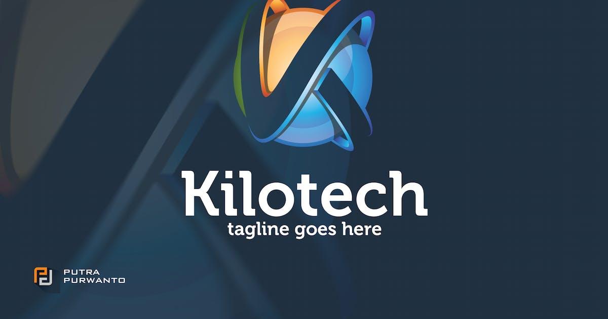 Download Kilotech / Letter K - Logo Template by putra_purwanto