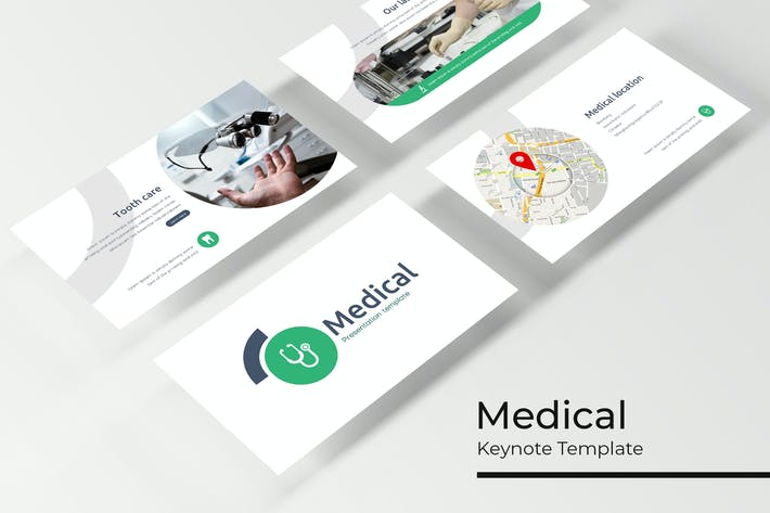 Thumbnail for Medical - Keynote Template