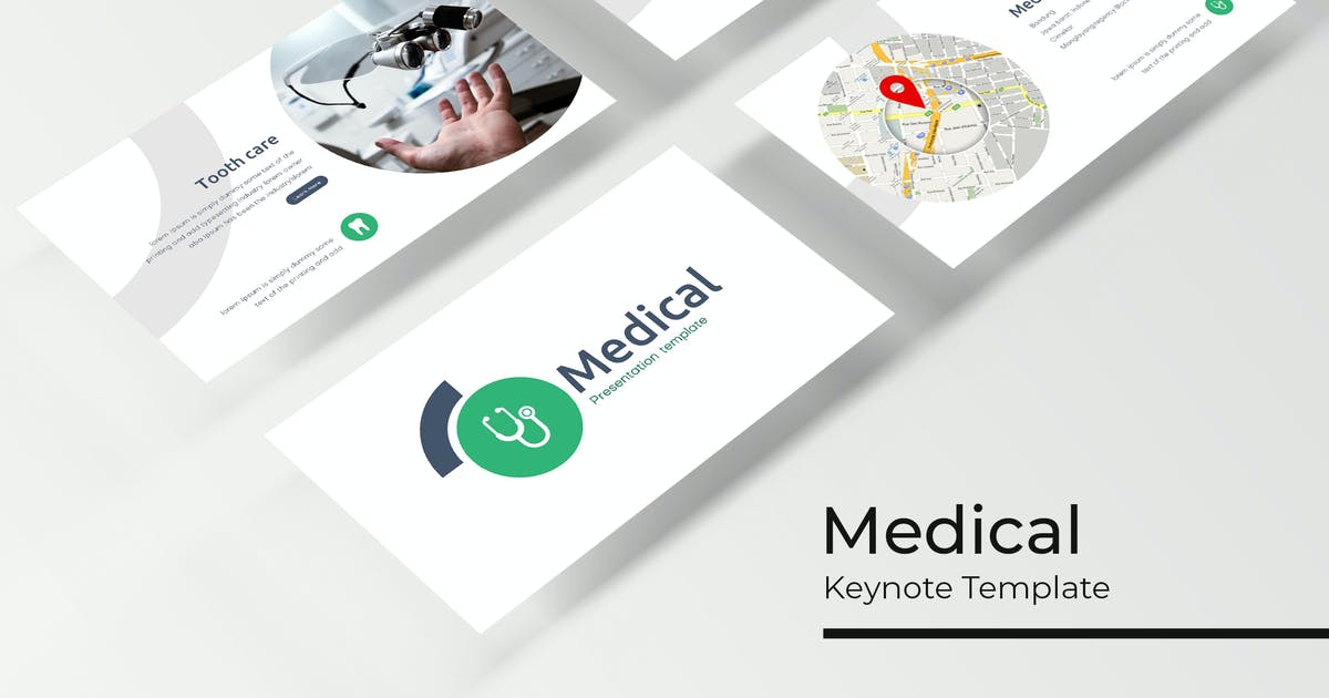 Download Medical - Keynote Template by IanMikraz