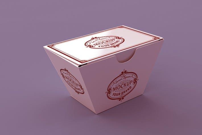 Thumbnail for Papier Food Box Mockup