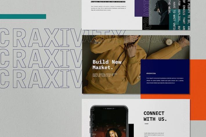 Thumbnail for Craxyvity - Business Marketing Google Slides