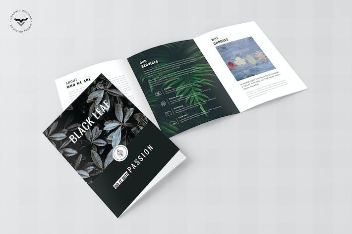 Thumbnail for Brochure Triple Business Minimal