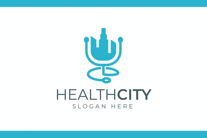 Thumbnail for Health City - Health and Medical Care Logo