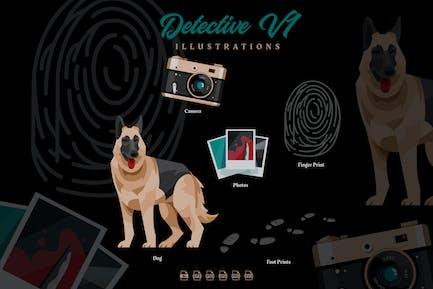 Detective V2 - Illustrations