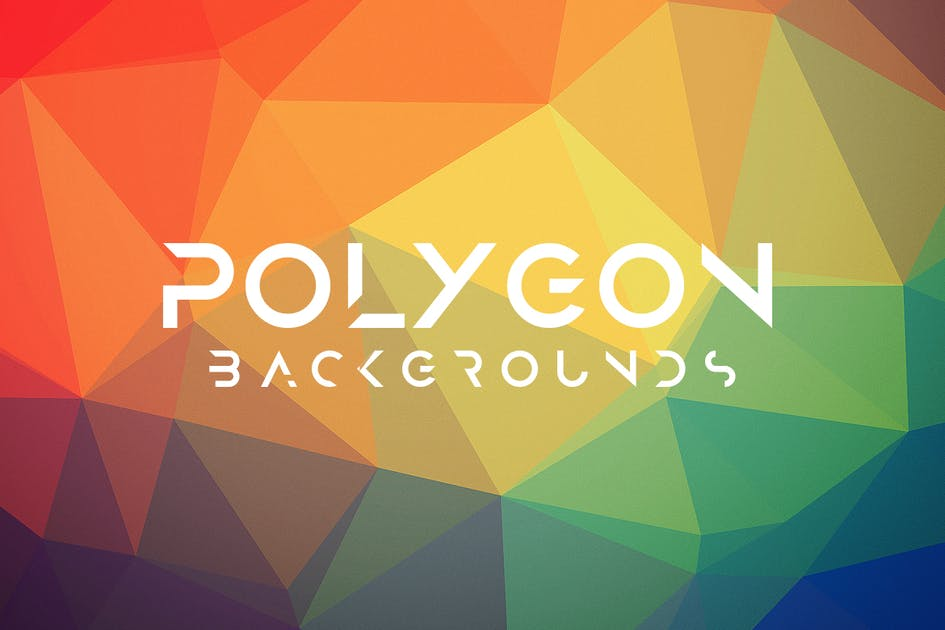 Download Abstract Polygonal Backgrounds by themefire