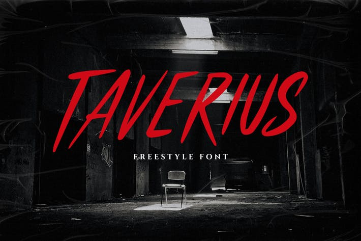 Thumbnail for Taverius Typeface