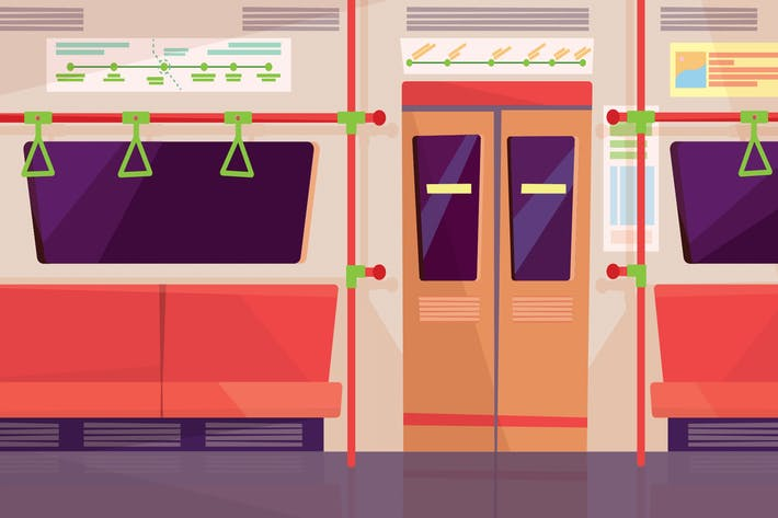 Thumbnail for Subway - Illustration Background