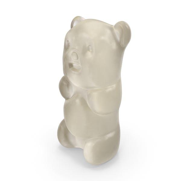 Gummy Bear Candy Weiß