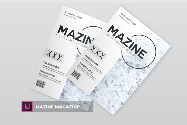 Thumbnail for Mazine | Magazine Template