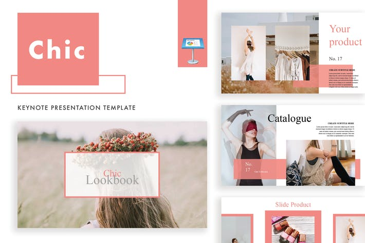 Thumbnail for Chic Keynote Template