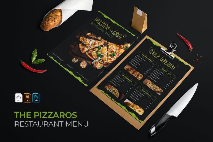 Pizza Ros | Restaurant Menu