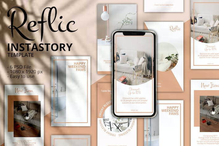 Thumbnail for Reflic Instagram Story Template