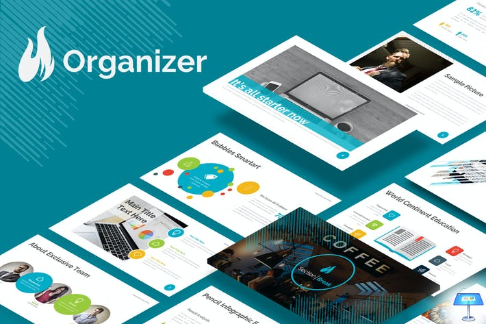 Thumbnail for Organizer - Keynote Template