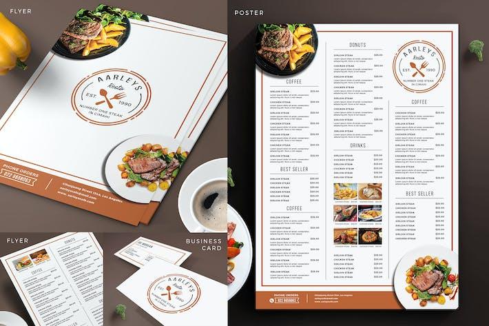 Thumbnail for Простой набор меню ресторана