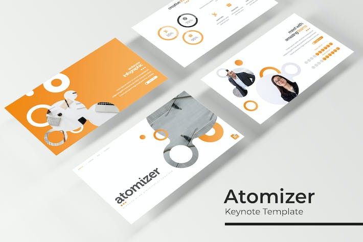 Thumbnail for Atomizer - Keynote Template