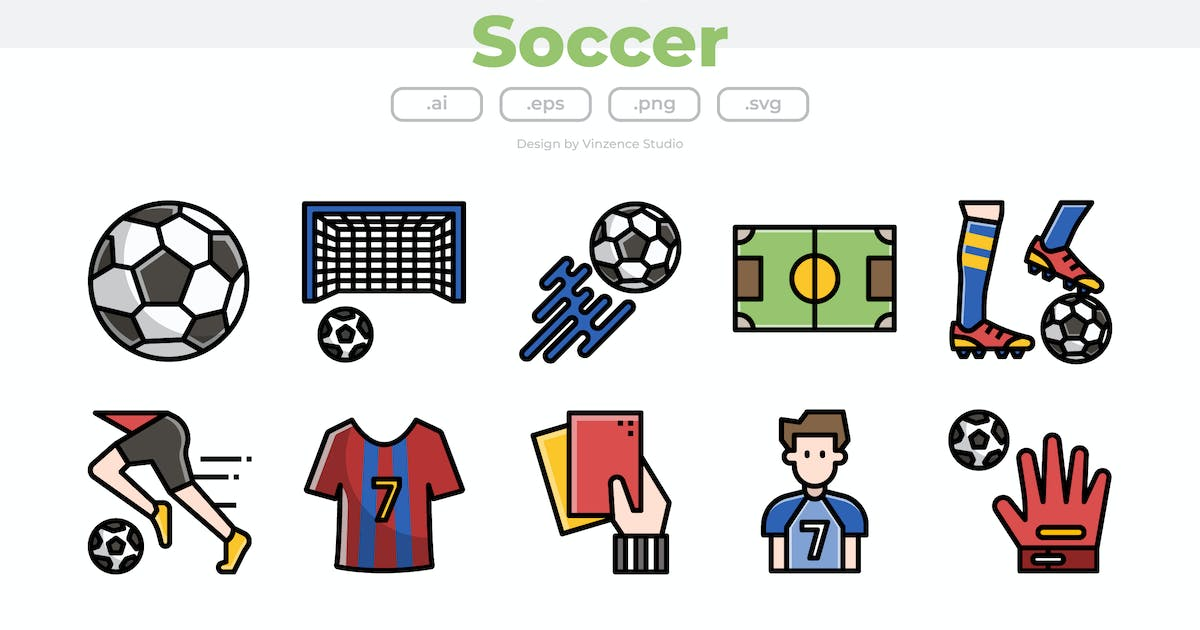 Download 30 Soccer Icons by winnievinzence