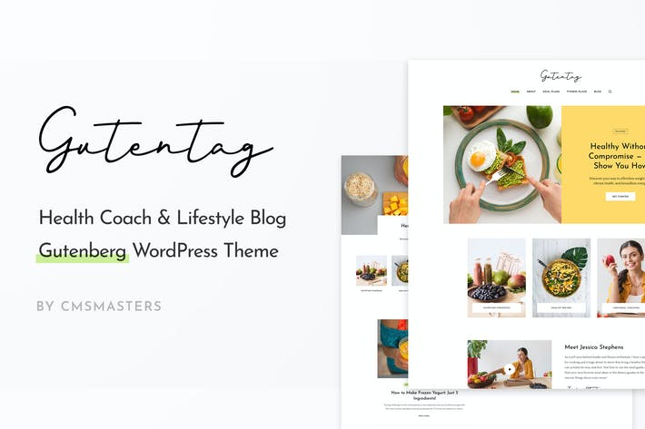 Thumbnail for GutenTag - 100% Gutenberg Blog WordPress Theme