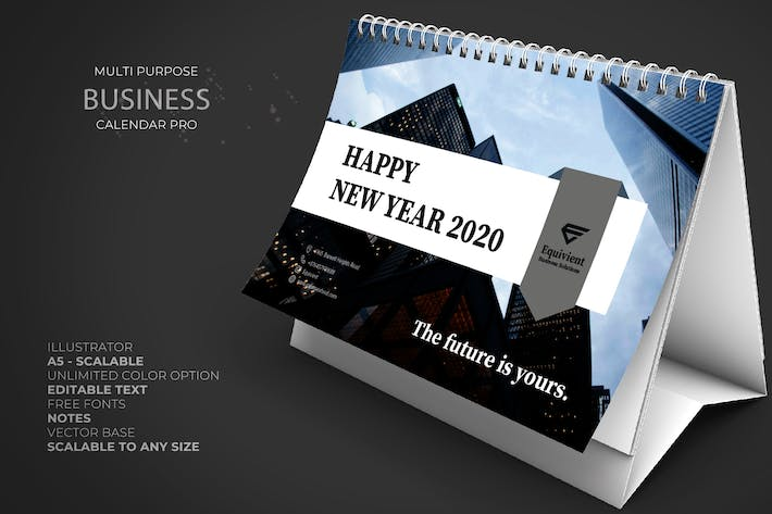 Cover Image For 2020 Business Calendar Pro
