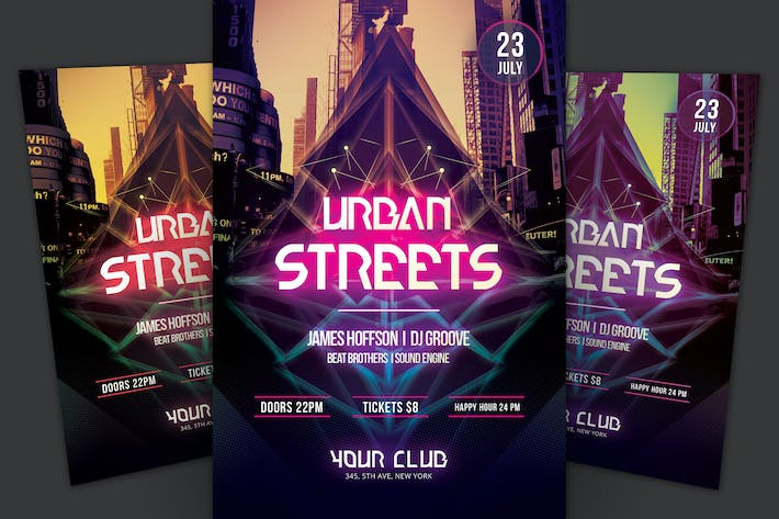 Cover Image For Urban Streets Flyer