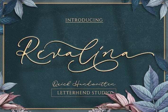 Thumbnail for Script Signature Revalina