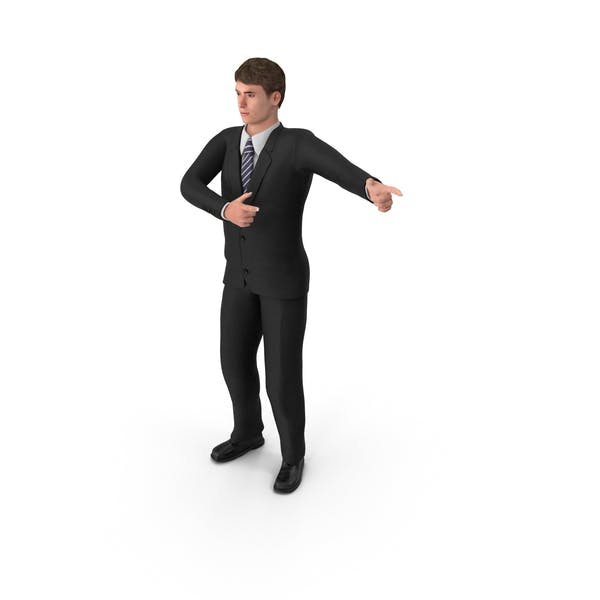 Businessman John Pointing