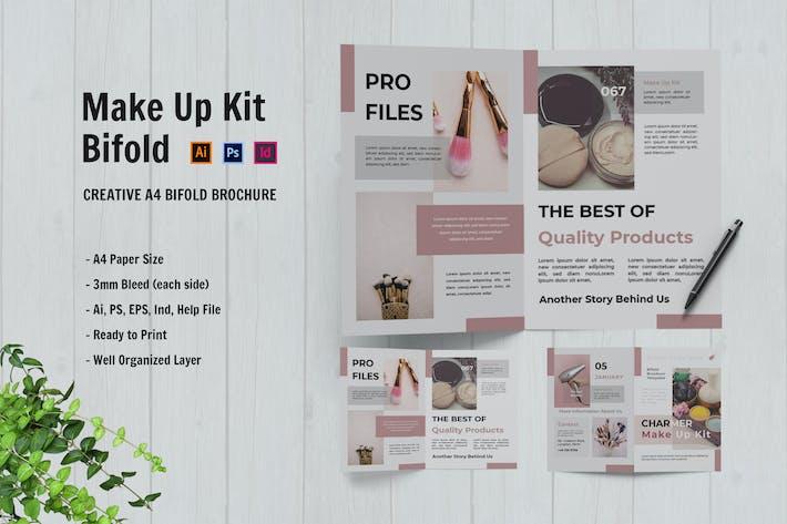 Charmer Make Up Kit Bifold Brochure