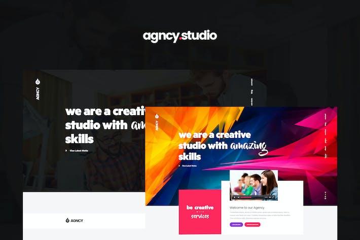 Thumbnail for Agncy - Creative PSD Template
