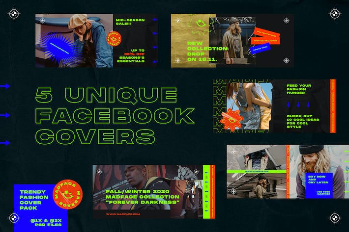 Thumbnail for Fashion Facebook Covers