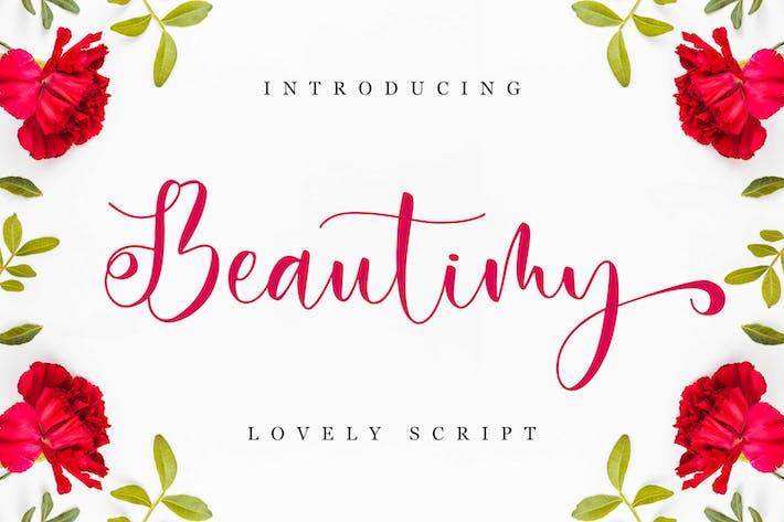 Thumbnail for Beautimy - Lovely Script