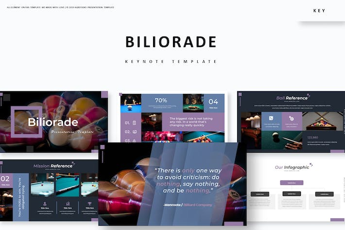 Cover Image For Biliorade - Keynote Template