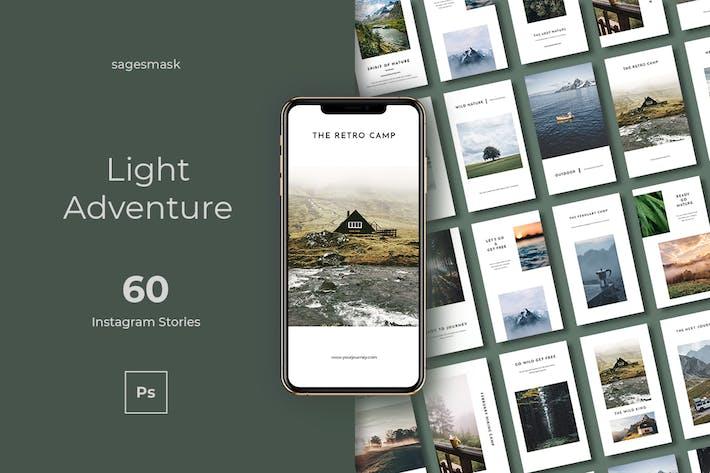 60 Light Adventure Instagram Stories