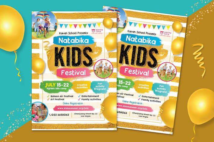 Thumbnail for Gold Kids Festival Flyer