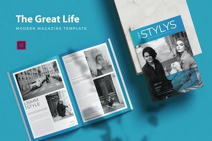 Great Life Magz - Magazine