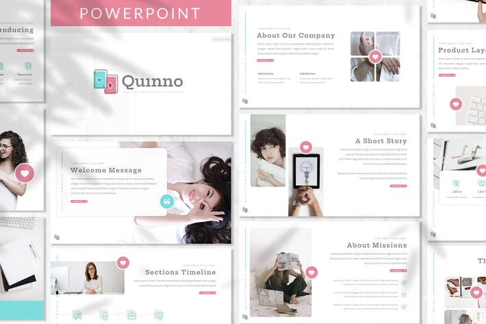 Thumbnail for Quinno - Business Powerpoint Template