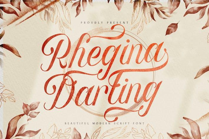 Rhegina Darling - Belle police de script