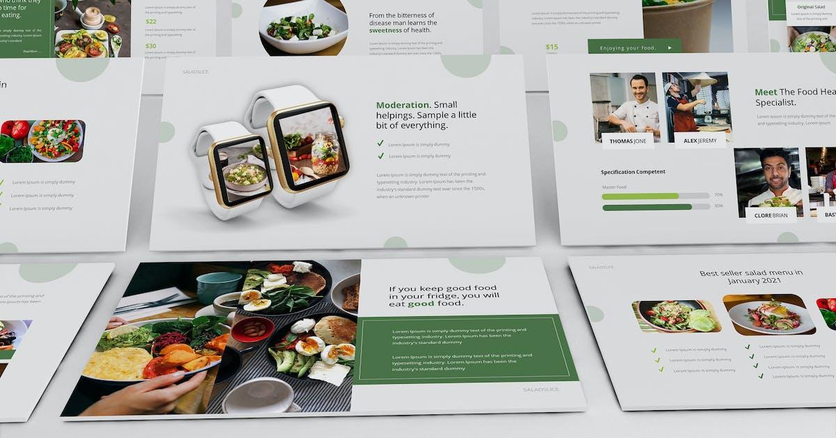 Download Saladslice Keynote Presentation Template by Formatika