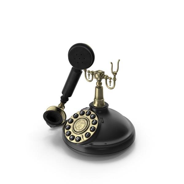 Старомодный ретро телефон