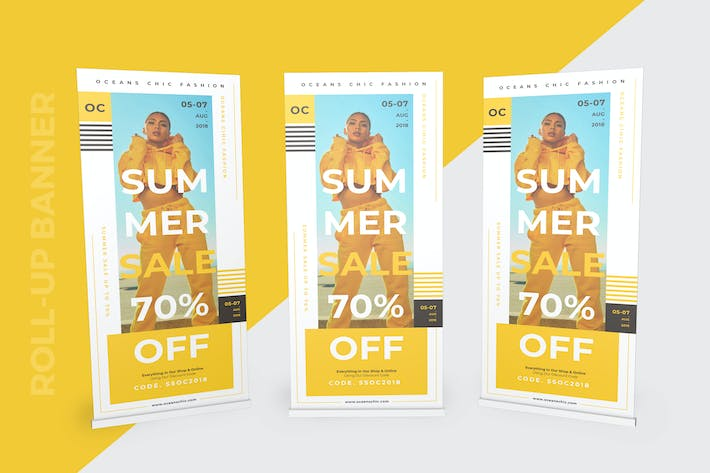 Thumbnail for Roll-up Banner Fashion
