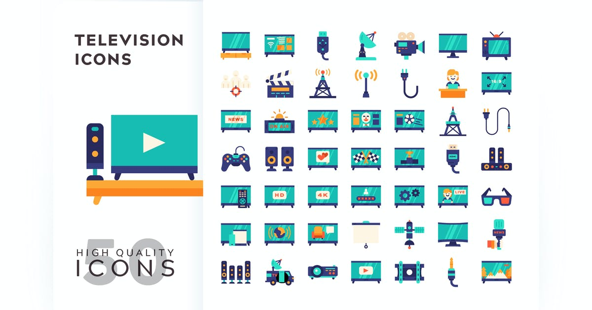 Download TELEVISION FLAT COLOR by subqistd