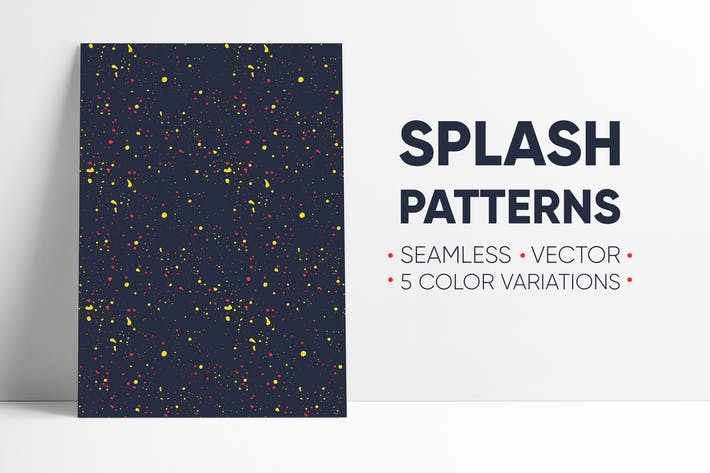 Thumbnail for Seamless Splash Patterns