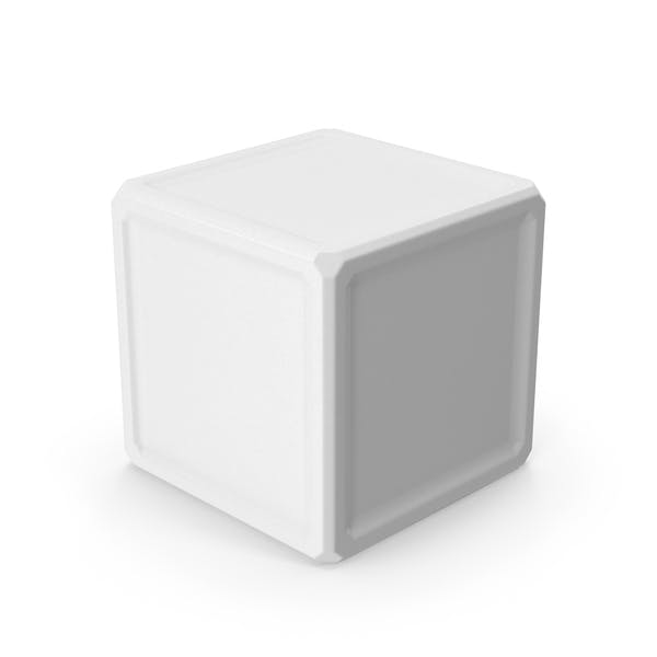 Куб белый