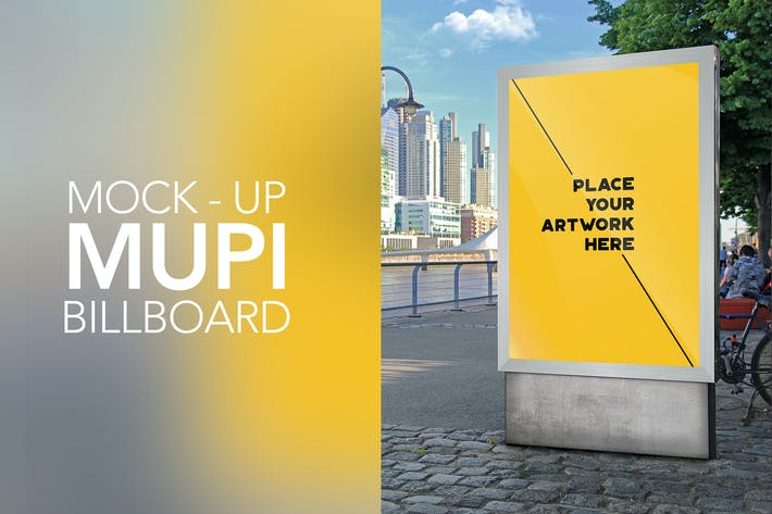 Thumbnail for Mock Up Mupi Billboard
