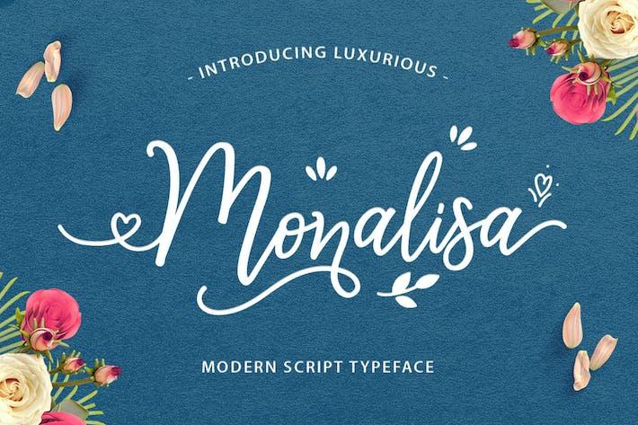 Thumbnail for Monalisa Luxurious Font