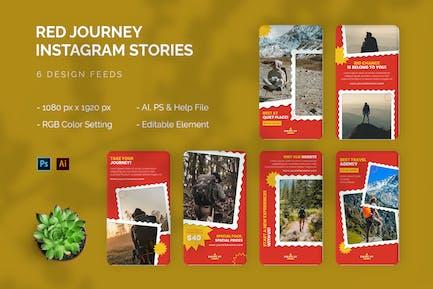 Red Journey - Instagram Story
