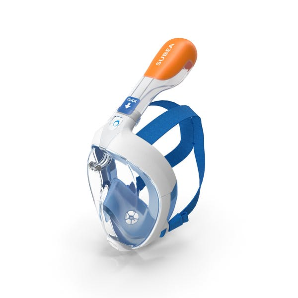 Thumbnail for Tribord Subea Easybreath Full Face Snorkel Mask