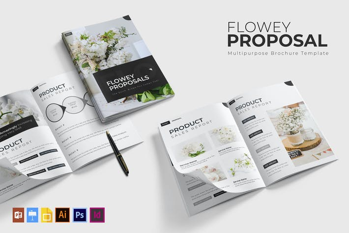 Thumbnail for Flowey | Proposal Template