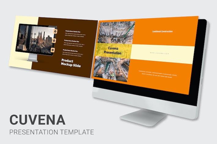 Thumbnail for Cuvena - Строительство и инжиниринг Google слайды
