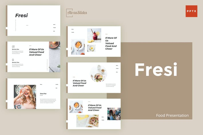 Thumbnail for Fresi - Food Powerpoint Template