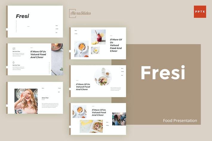 Thumbnail for Фрези - Шаблон питания Powerpoint
