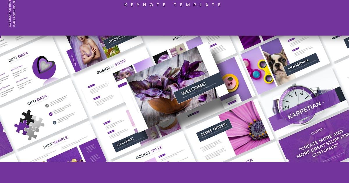 Download Karpetian - Keynote Template by aqrstudio